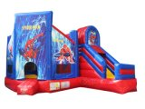 2018 Hot Sale Spiderman Bouncy Diapositive Combo gonflable CHB407