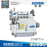 Zy987T-4 4-Vérin de thread lit Overlock d'alimentation supérieure et inférieure
