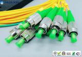 optische PLC van de Vezel van de Wijze van 2.0mm/3.0mm Enige Splitser 1*4