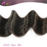 Hotsale Solta Natural Grau malaio ondulada 7um cabelo virgem
