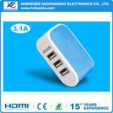 5V 3.1A Chargeur USB Adapter Wall Portable EU Us Plug Mobile Phone