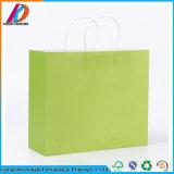Ecológica colorida bolsa de papel kraft para regalo/compras