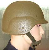 Nij Iiia aramida, Bulletproof capacete