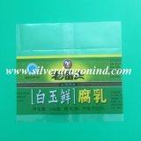 Étiquette de chemise de rétrécissement de PVC de prix bas pour des bidons de café