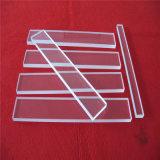 Fornitore libero Polished dello strato di vetro di quarzo