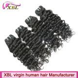 Категория 8A Индийского Джерри Curl природных Реми волос
