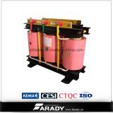 Transformador de alta tensão de classe seca de 10kv de 315kVA Transformador de alta tensão de 22kv