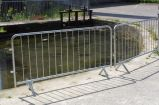 Royaume-Uni Type Style Metal Farm Gates avec Hot Inpped Galvanized Finished