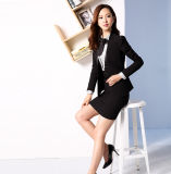 Made to Measure Mode Stylish Office Lady Formal Suit Slim Fit Pencil Calabres Costume Jupe CJ L51612