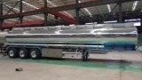 Chinese 45000 Liter 3 Fach-Luft-Aufhebung-Aluminiumlegierung-Kraftstofftank-Schlussteil-