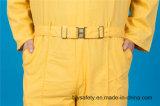 Da alta qualidade longa da segurança da luva do poliéster 35%Cotton de 65% Workwear barato da combinação (BLY1026)