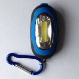 Keychain Flashlight met Hook Magnetic LED COB Work Light