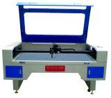 Широко используется в швейной промышленности CO2 лазерная резка машины с помощью CCD камера для резки товарные знаки