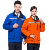 Uniforme Windproof e impermeável com os ternos da segurança do bordado