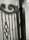Qualidade super elegante de Abertura e Fechamento automático da garagem portões de ferro