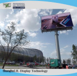Luminosità impermeabile di vendita calda P10 di alta qualità alta che fa pubblicità alla visualizzazione del LED esterna