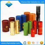 Custom tubos de cartón especiales de papel kraft para botellas