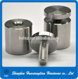 Steel inoxidável Advertisement Fixing Screws Glass Standoff (12X25 19X25 25X30)