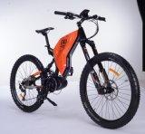 La suspension totale du moteur central VTT vélo électrique