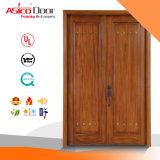 Portello principale del legname del teck dell'entrata del legno solida del portello