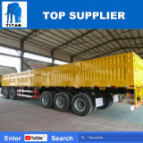 Veículo Titan 3 Eixos Wallside carreta para transporte de madeira de aço