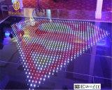 Éclairage imperméable à l'eau extérieur du DJ d'étage de danse du prix usine RVB DEL