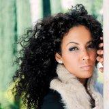 O cabelo 100% humano da onda profunda do Virgin empacota a extensão natural do cabelo preto