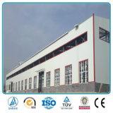 Armazém da construção de aço do baixo custo de China