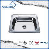 ステンレス鋼のTopmountの台所洗浄流し(ACS6046)