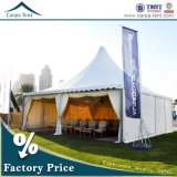 庭Partyのための高いPeak 6X6m Outdoor White Pagoda Tent