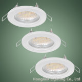 Atacado Fabricante White GU10 MR16 Recessed Ceiling Light Downlight Holder
