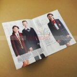 Impression de brochure d'impression de livret explicatif d'impression de catalogue de vêtements de prix bas