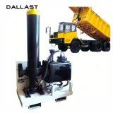 5 estágios único cilindro hidráulico ativo de 3/4/para a fabricação da fábrica do caminhão/reboque de descarga