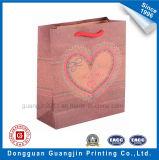 高品質金ロゴの一義的なデザインクラフト紙のショッピング・バッグ
