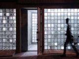 Radura & prezzo colorato del blocco di vetro per la parete decorativa