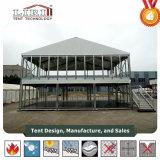 تصميم حديث اثنان طابق ألومنيوم بنية فسطاط خيمة