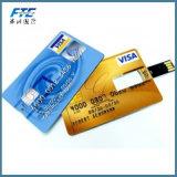 Cartão instantâneo feito sob encomenda do USB do crédito da forma do cartão da movimentação