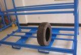 타이어 선반 저장 시스템에 의하여 주문을 받아서 만들어지는 차 부속품 진열대