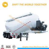 半45cbm/40cbm/50cbm粉の物質的な輸送のためのバルクセメントのタンカーのトレーラー