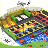 Trampolines высокого прыжка данка Slam гимнастические олимпийские используемые для сбывания
