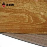 Ideabond 4ft*8ft 4mm de pared de madera paneles de aluminio