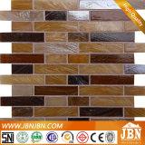 Mosaico de cristal de fusión de la tira de la pared del cuarto de baño y de la cocina (H455018)