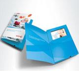 Brochuras de vídeo de publicidade barata a cores