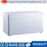 ホーム使用の固体ドアの水平の冷凍庫