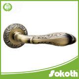 Poignée de levier de poignée de porte en alliage Sokoth Zink