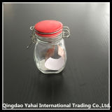 120ml Glass Storage Bottle con Black Clip Lid