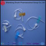 Medizinischer Feder-Wegwerftyp Sicherheits-Basisrecheneinheits-Nadel der Blut-Ansammlungs-Geräten-Einspritzung-IV