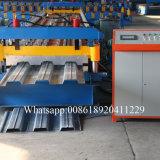 Rolo galvanizado do Decking do piso de aço que dá forma à máquina