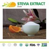 SteviaのエキスのSteviosideの自然で純粋なバルク甘味料Ra98及びエリトレットのStevia