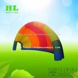Aufblasbares buntes Regenbogen-Art-Zelt für das Bekanntmachen